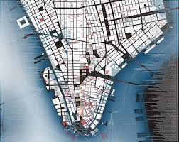 map of manhattan cultural s new historical map shows lower manhattan then