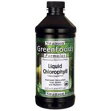 chlorophylle liquide contre indication cialis