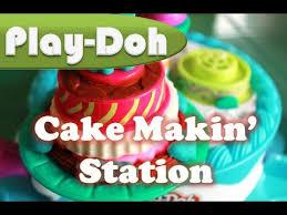 play doh cake making station sweet shoppe cake maker play doh kids