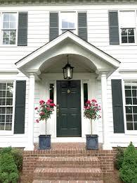 Front Door Planters by Front Door Style Spring Edition Brass Door Knocker Black Door