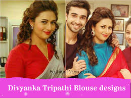 divyanka tripathi blouse designs yeh hai mohabbatein