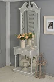 shabby chic french style vintage dressing table with mirror sold