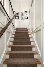 stairs molding ideas staircase traditional with white molding oak