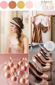 newest metallic wedding trend is copper weddingdash com
