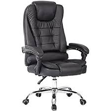 amazon com lch high back leather office chair with adjustable