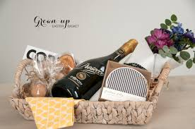 ideas for easter baskets for adults an easter basket for grown ups earnest home co
