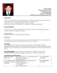 resume sample for ojt hotel and restaurant management luxury