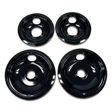 whirlpool drip pan kit in black w10288051 the home depot