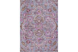 Lilac Rug 31x79 Rug Gypsy Purple Living Spaces