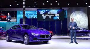 purple maserati maserati celebrates the delivery of its 100 000 car in shanghai