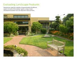 home landscape design asla 2010 professional awards access to nature for older adults