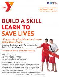 lifeguarding certification course salina family ymca