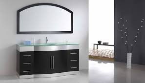 adorable floating design for modern bathroom vanity touched by
