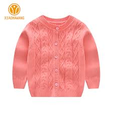 solid baby sweater long sleeve baby boys sweaters knitted cotton