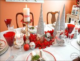 red and silver christmas table settings christmas table setting red and silver home furniture and
