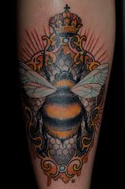 30 best bee tattoo designs for boys and girls