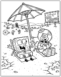 spongebob coloring pages 13 coloring kids