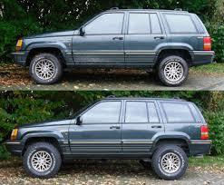 jeep comanche lowered zj 2 in budget boost sitting too high in rear 3 25 in higher