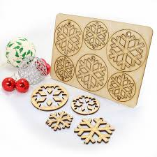 12 laser cut snowflake decorations laser cutting