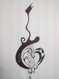 guitar tattoo by gamerextremer on deviantart