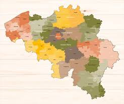 map of begium map of belgium belgium regions guides guides