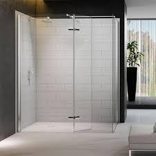 Shower Door 700mm Doors Enclosures Merlyn Series 8 Walk In Shower With Hinged