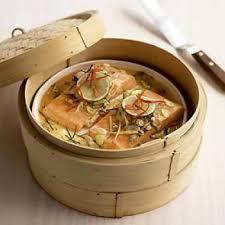 recette de cuisine saumon saumon vapeur recettes de cuisine thaïlandaise