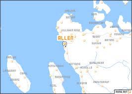 map of allen allen philippines map nona net