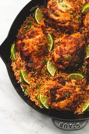 Chicken Main Dish - one pan chili lime chicken and rice the recipe critic
