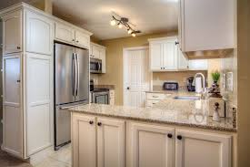 Indoor Kitchen Traditional Kitchen With U Shaped U0026 Flat Panel Cabinets In