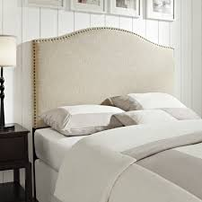 attractive full size padded headboard good full size tufted