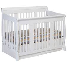 4 In 1 Convertible Crib White Storkcraft Tuscany 4 In 1 Convertible Crib White Baby Cribs