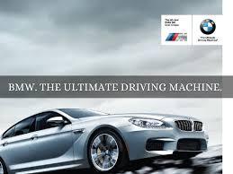 tagline of bmw bmw driving machine