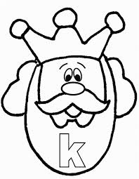 king coloring page free download