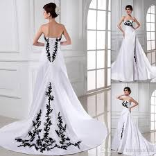 made in usa wedding dress discount white and black wedding dresses a line satin