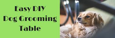 dog grooming tables for small dogs i built a diy grooming table for small dogs and you can too here s