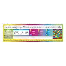 24 desk plates cursive u0026 numbers orientaltrading com