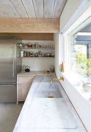 kitchen faucets vancouver kitchen of the week a monumental marble countertop remodelista