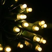 5mm 5mm or conical warm white led lights green wire