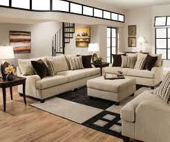 Leather And Fabric Living Room Sets Beautiful Leather Sectional Sofa 7 Simmons Taupe