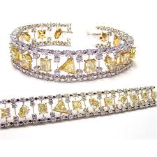 bracelet diamond yellow images Natural fancy pink diamonds yellow diamonds colored diamond and jpg