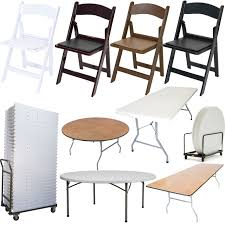 resin folding table and chairs resin folding chairs and tables wedding bundle 100 chairs with 12