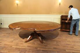Round Dining Room Table With Leaf by Dining Tables Expandable Dining Table Plans Dining Room Table