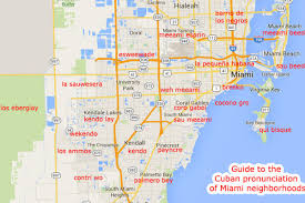 Map Of South Beach Miami by The Cuban Pronunciation Guide To Miami Neighborhoods Curbed Miami