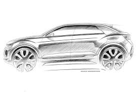 volkswagen t roc latest sketch and video show more of qashqai