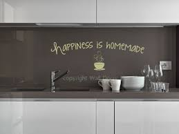 happiness is homemade vinyl wall decals motivational quotes kitchen happiness is homemade saying for the kitchen decor vinyl kitchen wall decals loading zoom