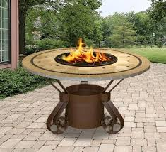 solano dining height gas propane fire pit table u2013 fire pit plaza