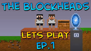 block heads apk let s play the blockheads ep 1