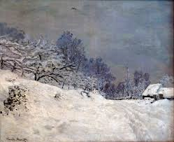 Alfa Img Showing Gt French Country Style The Road In Front Of Saint Simeon Farm In Winter 1867 Claude