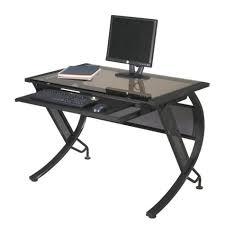 glass desks modern home office furniture officefurniture com